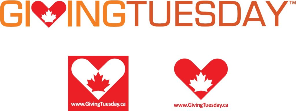 Giving Tuesday logo in Canada