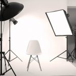 10 Reasons Why Your Business Needs Professional Photography- Professional photo studio with lighting equipment