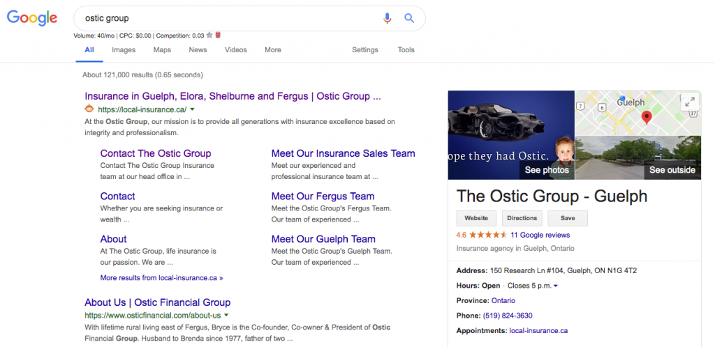 Digital Marketing Case Study: The Ostic Group | Intrigue