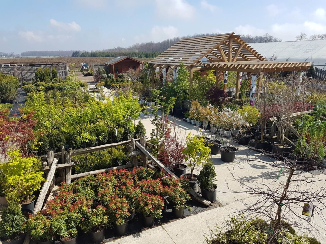 A view of St Jacobs Country Gardens and Nursery