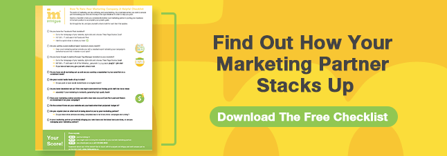 Download the Rate Your Marketing Company Checklist